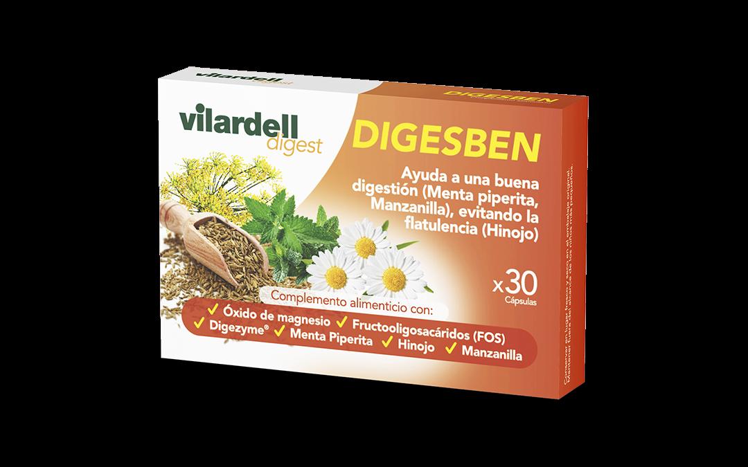 Laboratorios Vilardell lanza Vilardell Digest Digesben