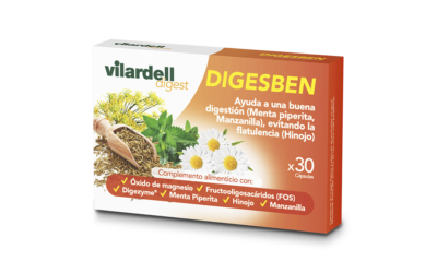Laboratoris Vilardell presenta Vilardell Digest Digesben