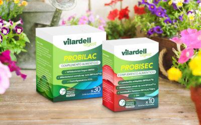 Vilardell Digest amplia la seva gamma de productes per a la salut digestiva amb Vilardell Digest Probilac i  Vilardell Digest Probisec