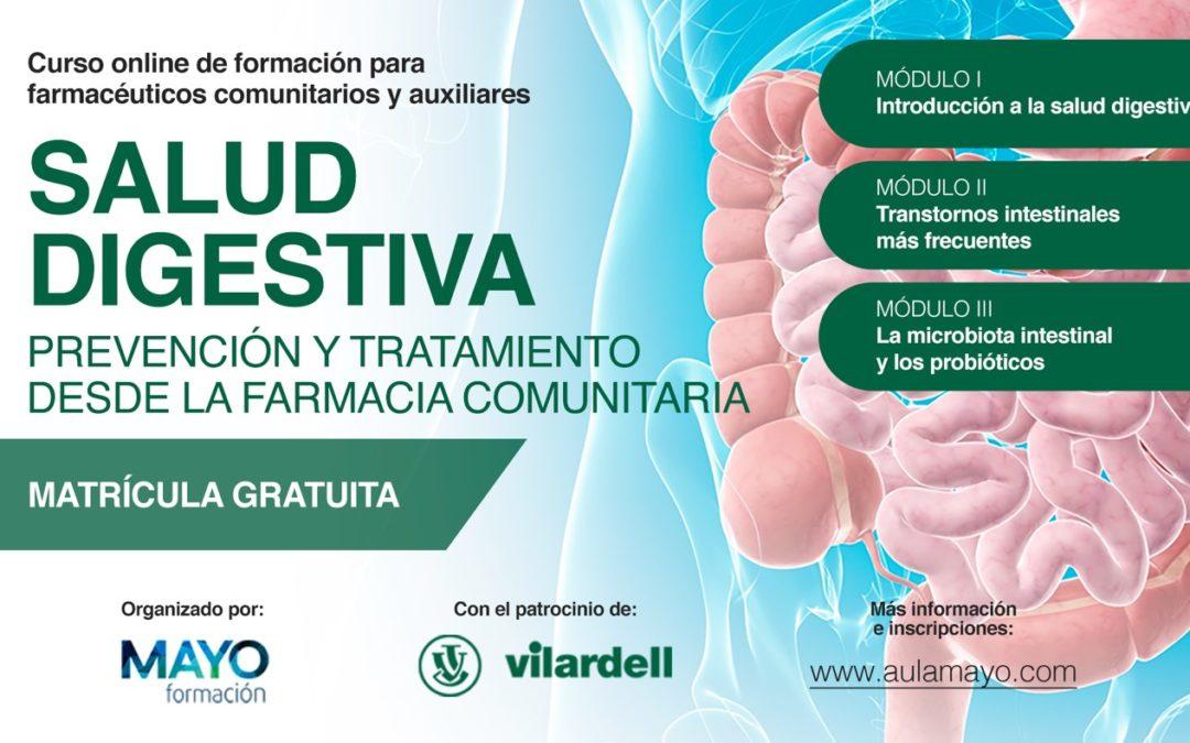 """Obertura de la segona edició del curs """"Salut digestiva: prevenció i tractament des de la farmàcia comunitària"""""""