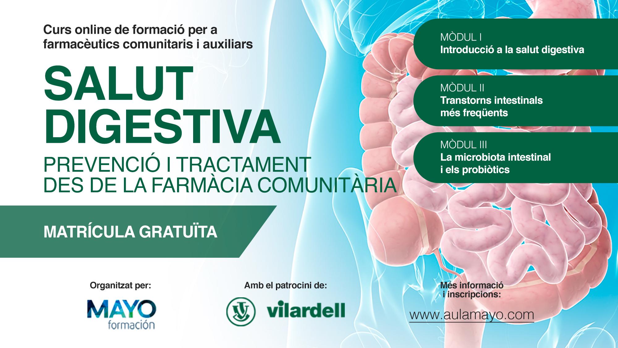 """Apertura de la segunda edición del curso """"Salud digestiva: prevención y tratamiento desde la farmacia comunitaria"""""""